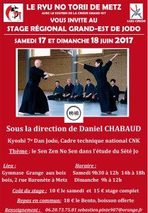 Stage régional JODO à Metz juin 2017 V6