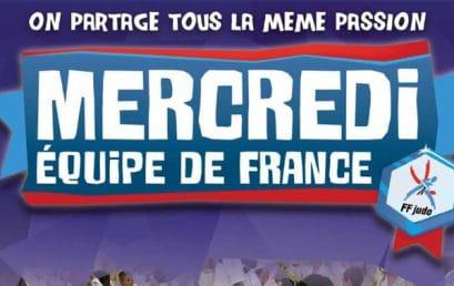 Mercredi Équipe de France à Strasbourg