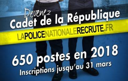 Devenez «Cadet» de la République…