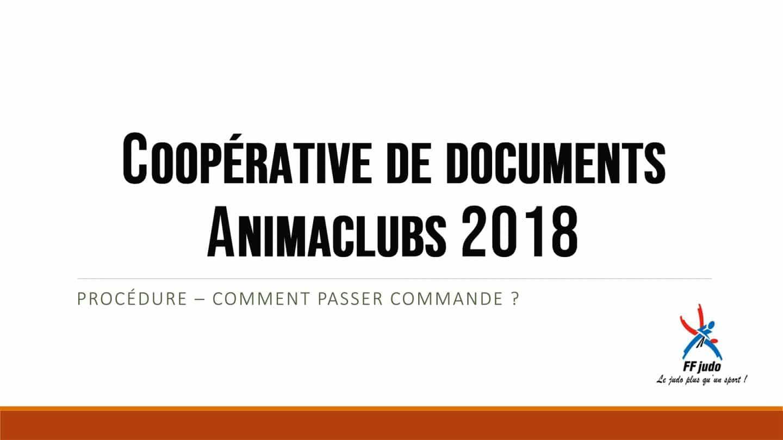 coopÉrative de documents Animaclubs
