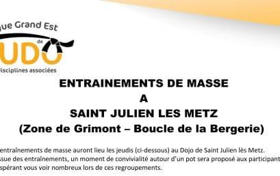 Entrainement de masse à St-Julien-les-Metz