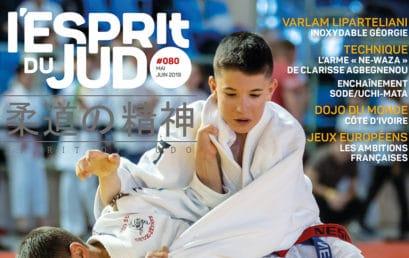 L'Esprit du Judo n°80 est en kiosque