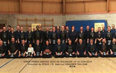 Stage régional de kendo