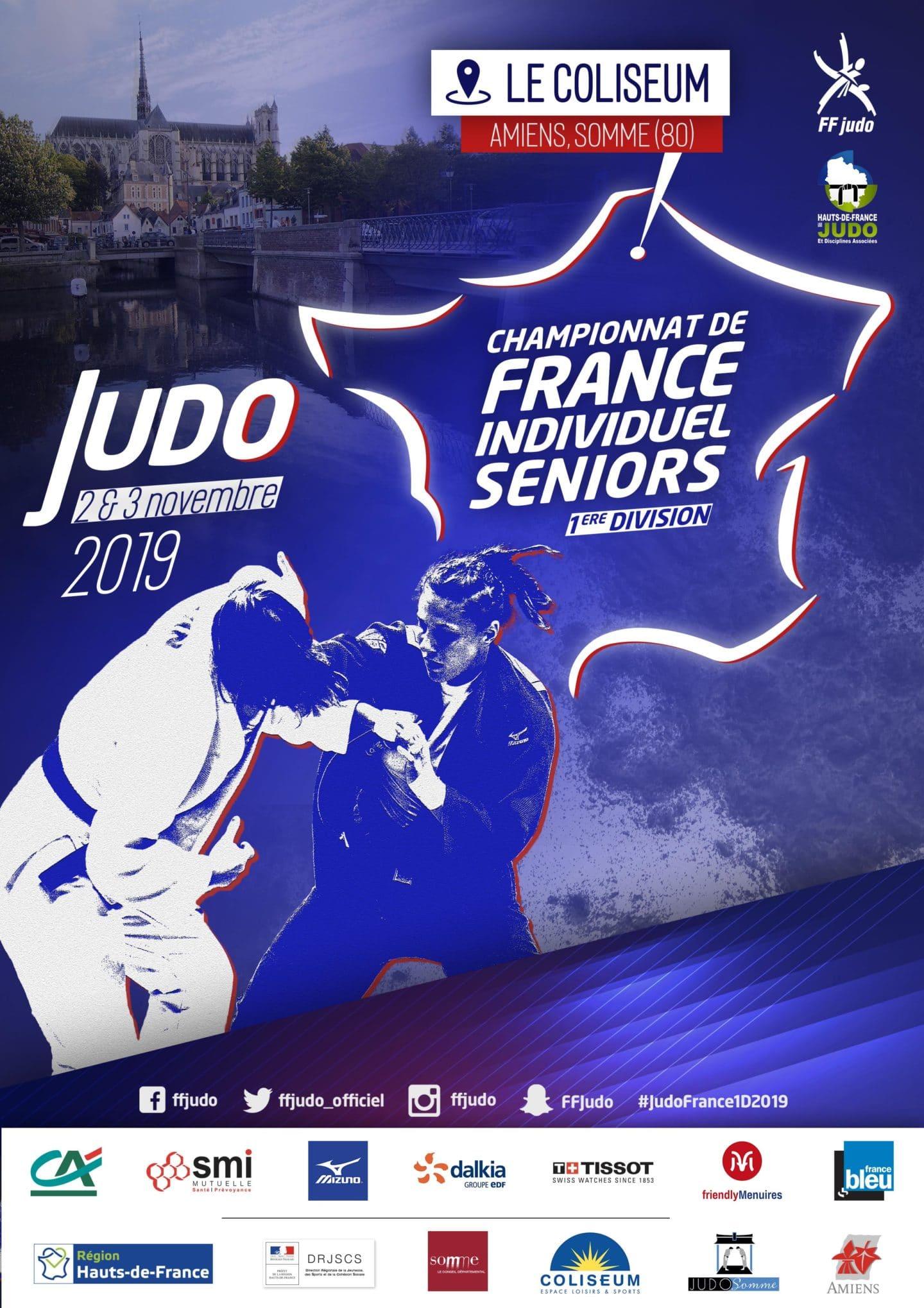 Billetterie Championnats de France D1 – Amiens