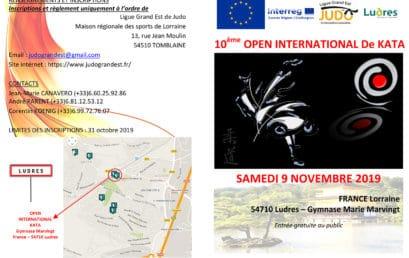 Open KATA de Ludres