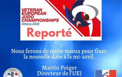 European Championship Veterans – Report
