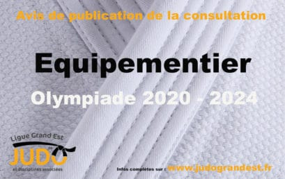 Avis de publication de la consultation – Equipementier 2020-2024