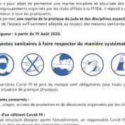 Protocole sanitaire des clubs