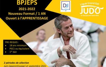 Formation BPJEPS – Nouveau format