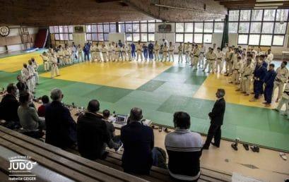 Stage des Équipes de France masculines et paralympiques à Strasbourg