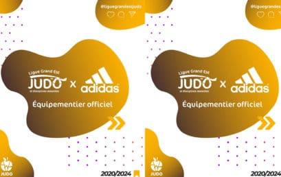 Partenariat Adidas/Ligue Grand Est de Judo