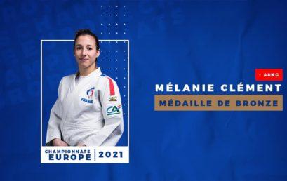 Melanie CLEMENT en bronze aux championnats d'Europe de Lisbonne