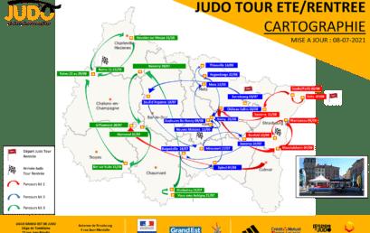 JUDO TOUR ETE 2021 – LES ETAPES