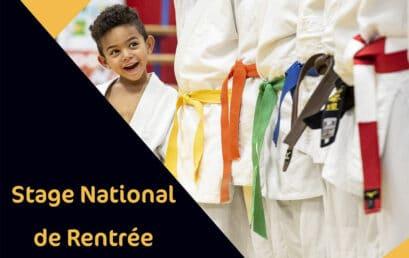 Stages Nationaux de Rentree – WEBINAIRES